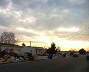 curbside trash