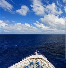 tip of cruise ship 2