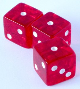3 one dice